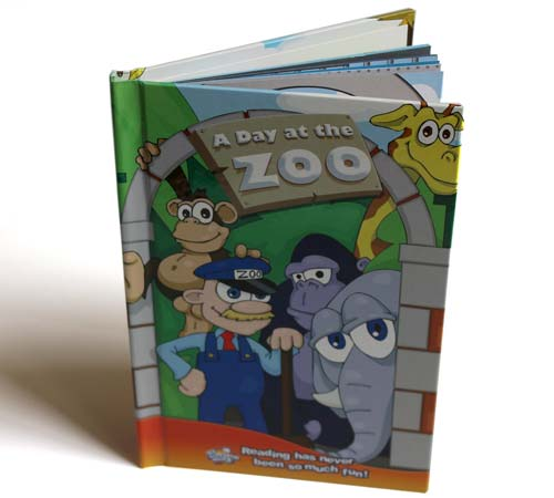 """A Day At The Zoo Personalised Story Book"""