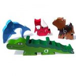 """Alphabet Zoo Wooden Jigsaw Pieces"""