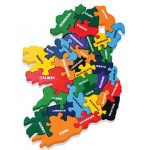 """""""Map of Ireland Wooden Jigsaw Puzzle"""""""