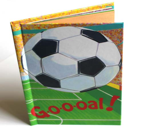 """Goal Personalised Story Book For Boys"""