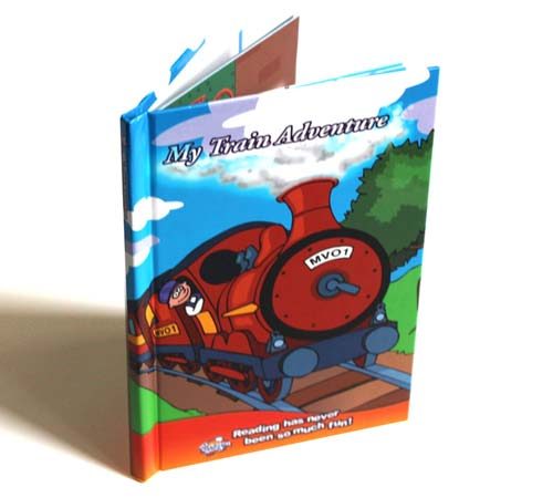 """My Train Adventure Personalised Story Book"""