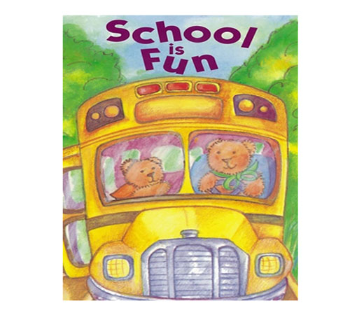 """School is Fun Personalised Story Book"""