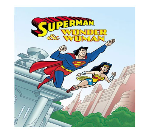 """Superman and Wonder Woman Personalised Story Book"""