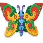 """Alphabet Butterfly Wooden Jigsaw"""