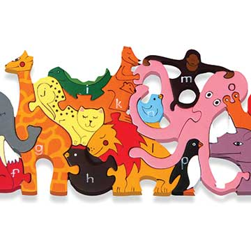 """Alphabet Zoo Jigsaw"""