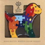 """Dog Number Wooden Jigsaw Puzzle"""