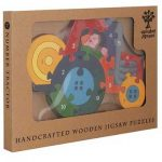 """""""Tractor Wooden Jigsaw Puzzle"""""""